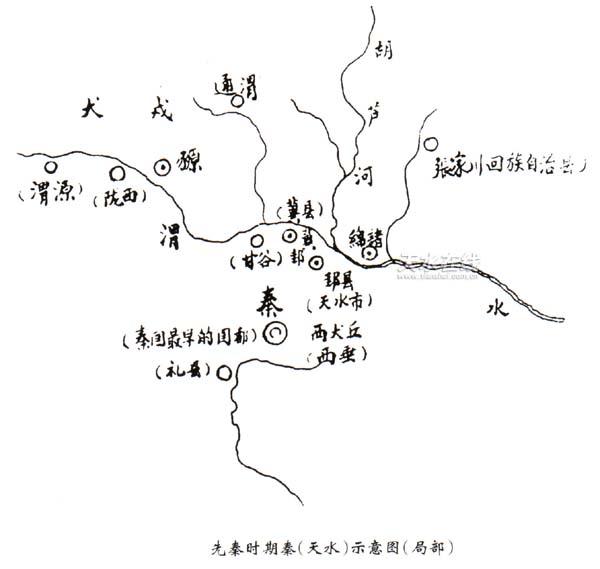 先秦时期陇右民族渊源