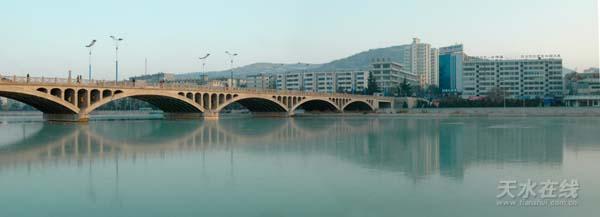 天水新建的钢结构桥