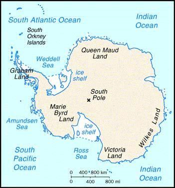 美军常驻南极大陆 拒绝承认他国对南极主权(图)