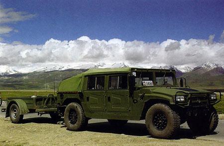 中国 青藏高原/东风猛士越野车在青藏高原试验(图4)