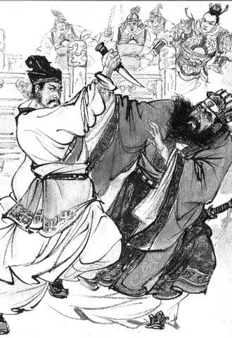 东晋太兴二年(319年)刘曜迁都长安