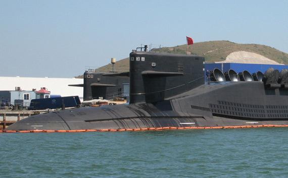 中国最新型战略核潜艇