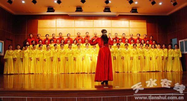 无伴奏合唱《天路》《跑马溜溜的山上》-天水老年大学文化活动中心