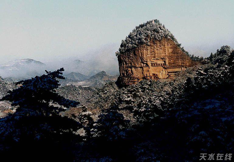 麦积山风景名胜区加快创建5a级旅游景区步伐(图)