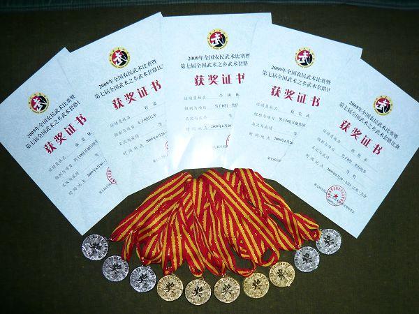 武山县隆重举行第七届全国武术之乡金牌颁奖仪式(图)