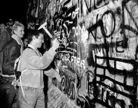 拆除 柏林墙