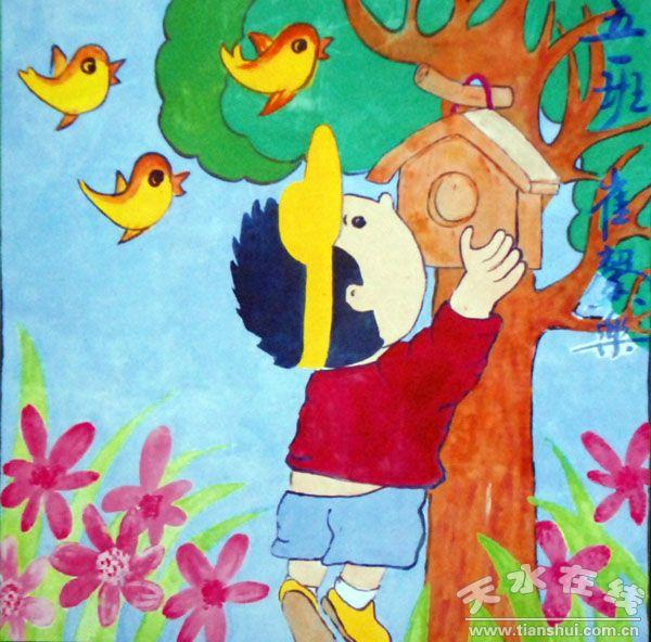 幼儿园画画简单图片_幼儿999