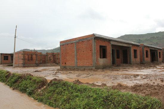 一层农村户型设计图 求农村130平米三层半房子设计图,效果