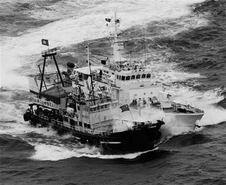 0月,香港一艘保钓船被日本巡逻舰撞伤-日媒称美日军演欲染指钓鱼图片