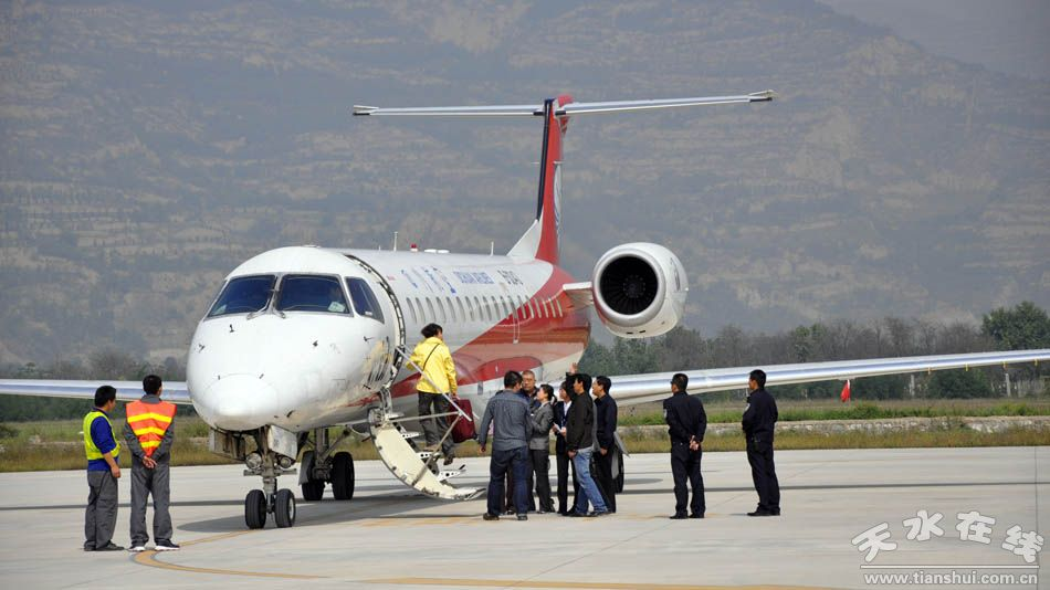 天水机场航班正常运营