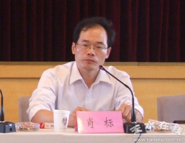 肖标/天津市河北区政府办副主任肖标对我县近年来发生的变化及所取得...