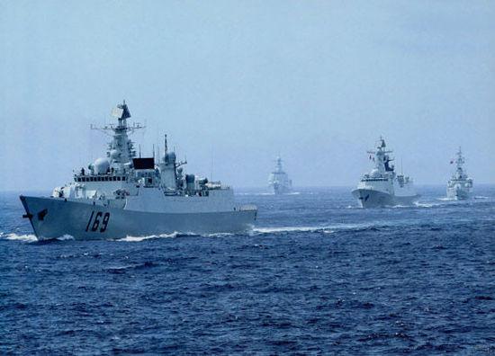 美媒:中国海军战时可参战力量将远超1/3