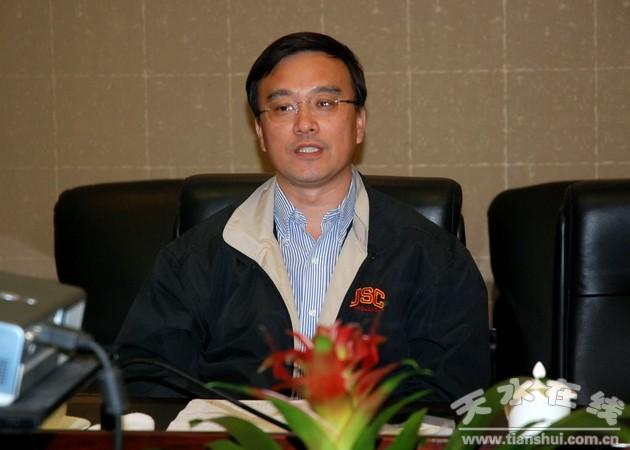 市委书记马世忠会见青岛海信传媒网络公司负责人(图)