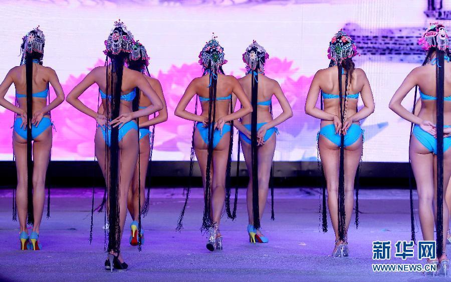 国际比基尼小姐大赛总决赛在青岛落下帷幕(组图)