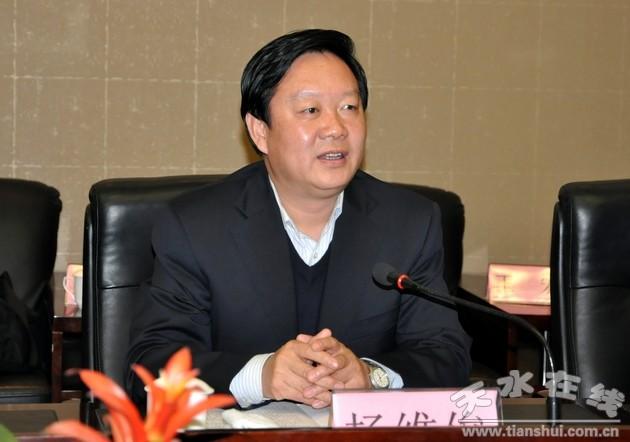 杨维俊会见中植企业集团董事局主席解直锟一行(图)