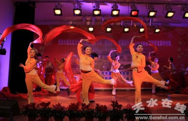 我家清水门前流歌谱-清水县2012年春节联欢晚会正式录制