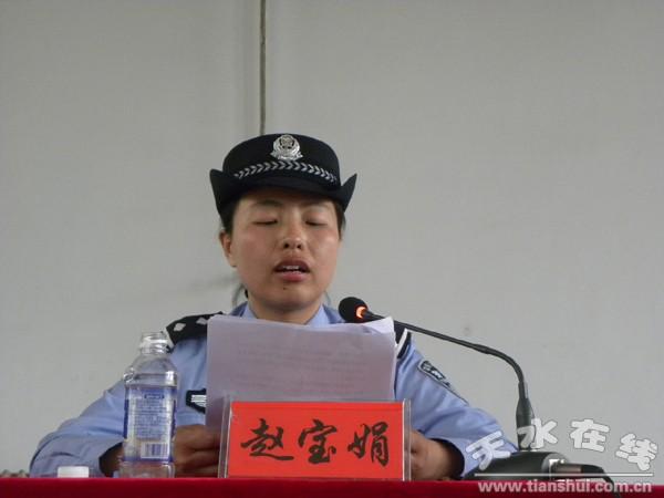 甘肃机电职业技术学院举行法制安全教育讲座(