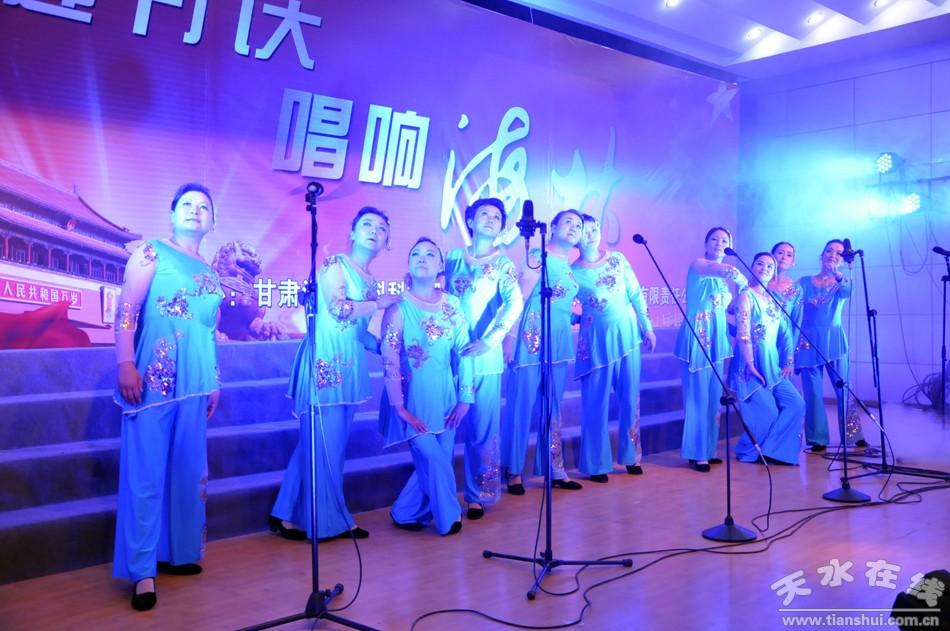 """女声合唱:映山红在线视频; 甘肃海林中科公司举行""""喜迎十八大""""职工"""