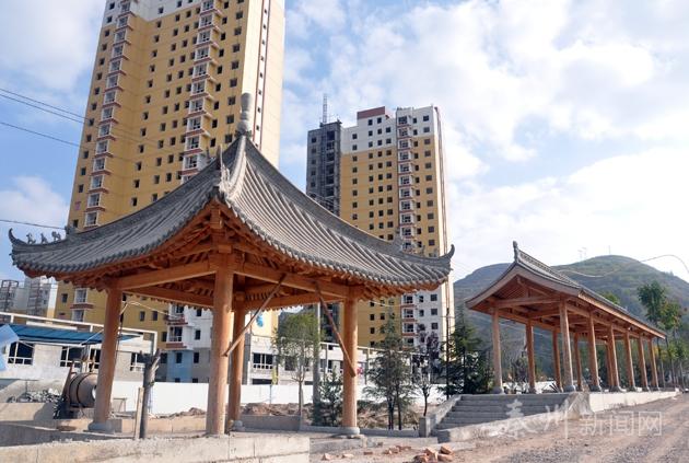 新城/【直击项目】山水新城道路景观绿化建设已完成80%...