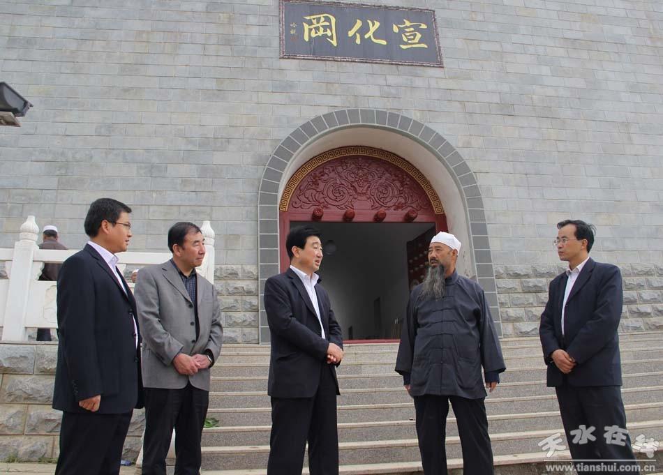 2013年10月3日,副市长霍卫平带领市旅游局负责人,先后深入张家川县