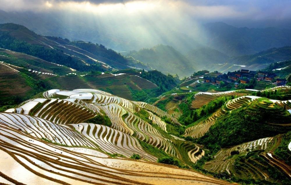广西山顶风景壁纸