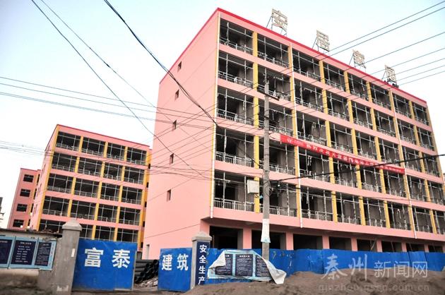 11㎡,计划建设3栋6层全框架结构楼房,有6个单元64套住房及8间铺面.