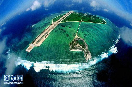 永兴岛位于中国西沙群岛东部的宣德群岛中部,是一座由白色珊瑚,贝壳