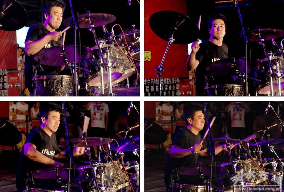 爵士鼓独奏《drum session》友情表演者:高飞.中国著名爵