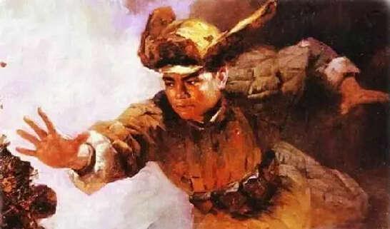 黄继光亲密战友见证堵枪眼:他身体被子弹打烂