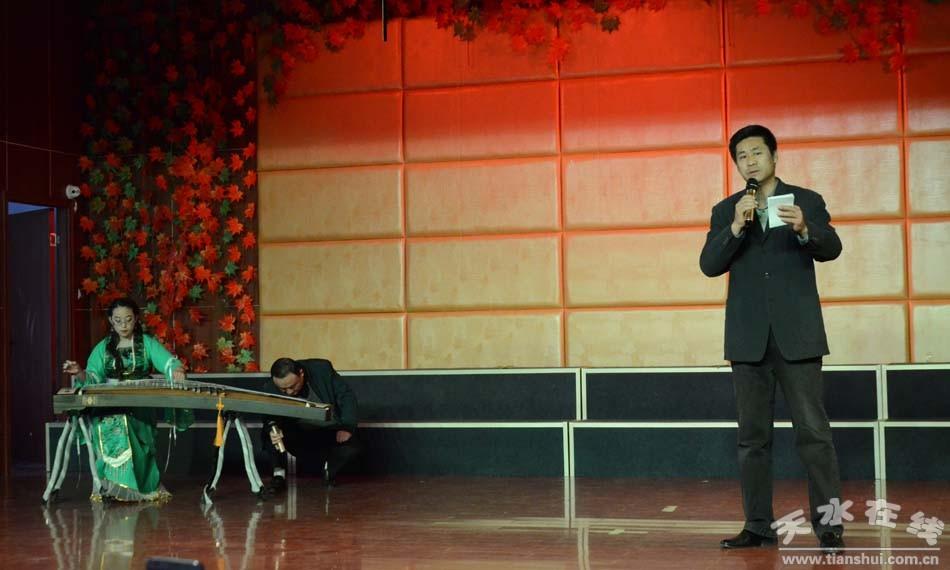 杜甫诗朗诵《梦李白》 表演:曹文成,古筝拌奏:杨海霞