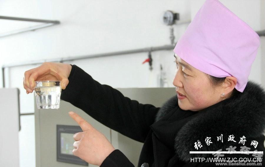 锅炉房校花蓝诗_张家川城区净水厂二期工程今日调试供水(组图)--天水在线