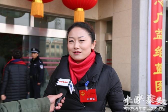 直通两会】秦安县人大代表热议政府工作报告(