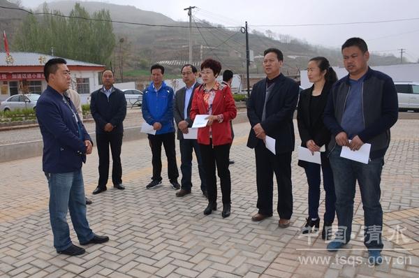 青海省互助县考察清水县易地扶贫搬迁工作(组图)