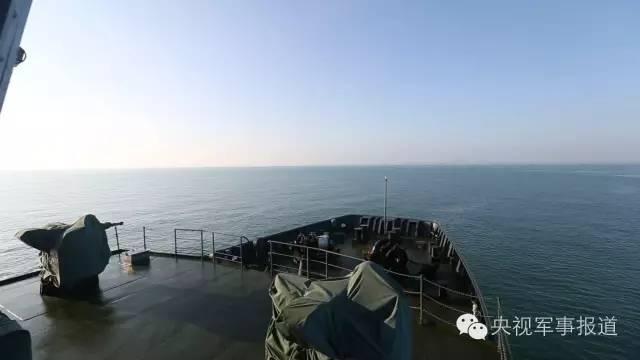 中国陆军最大战舰国庆赴南海 已跑遍西沙39岛礁