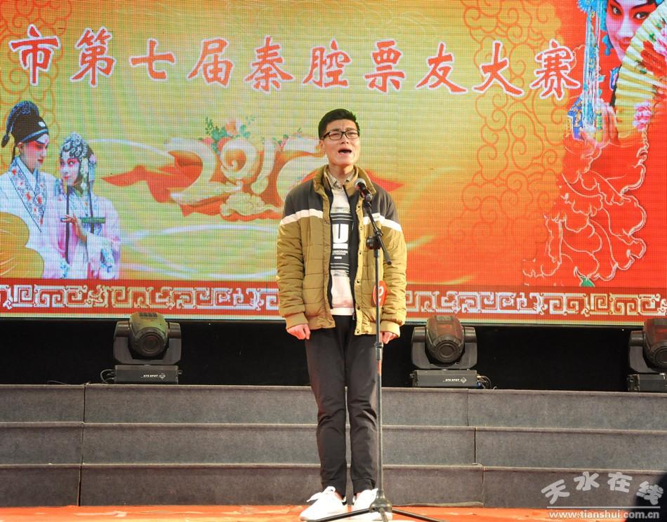 汪洋 演唱:《二堂舍子》选段:刘彦昌哭的两泪汪