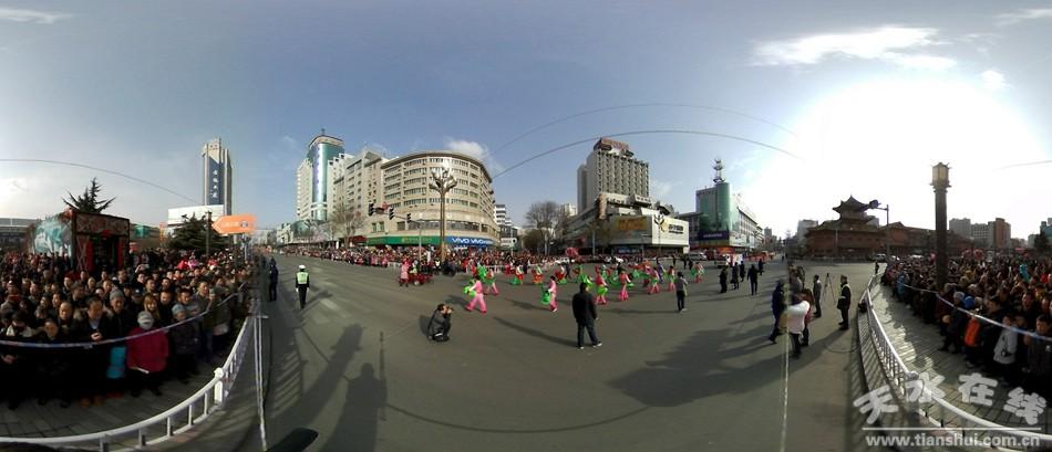 天水在线VR摄影:秦州社火正月十二耍视频(图)a老头大地图片