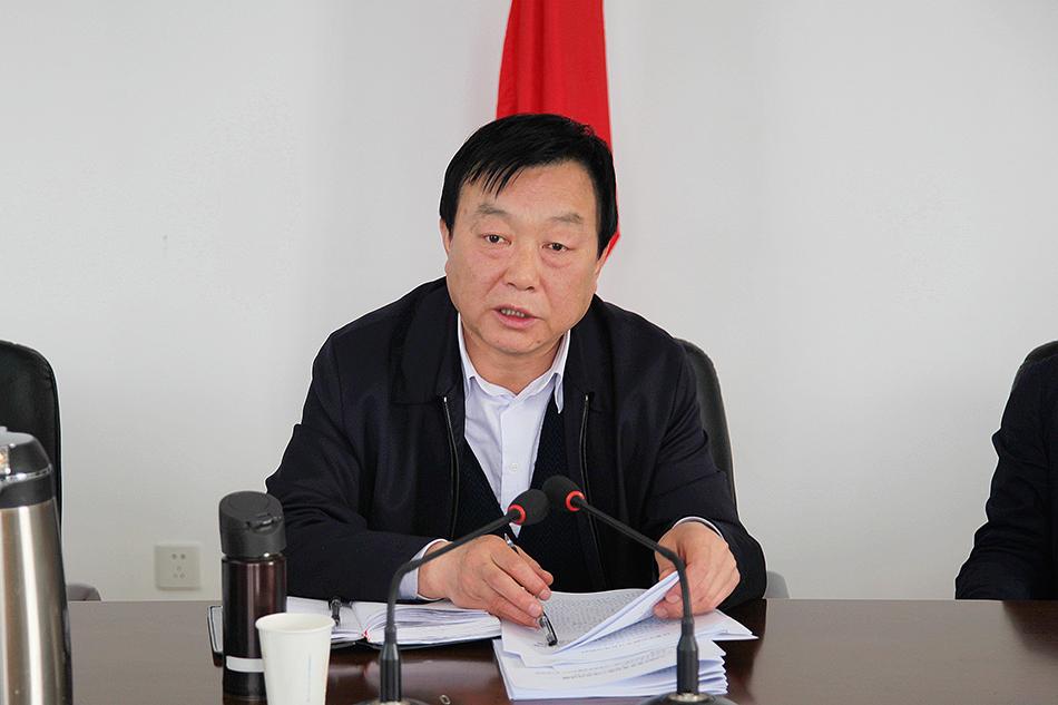 雷鸣主持召开秦州区委中心组学习会议