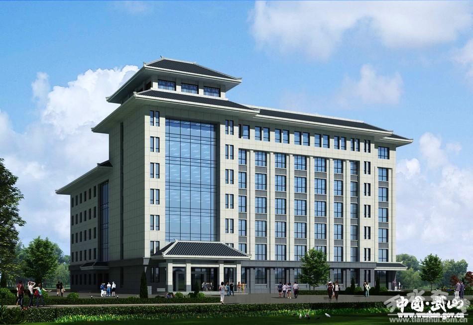 武山县中医医院康复综合楼开工建设(图)