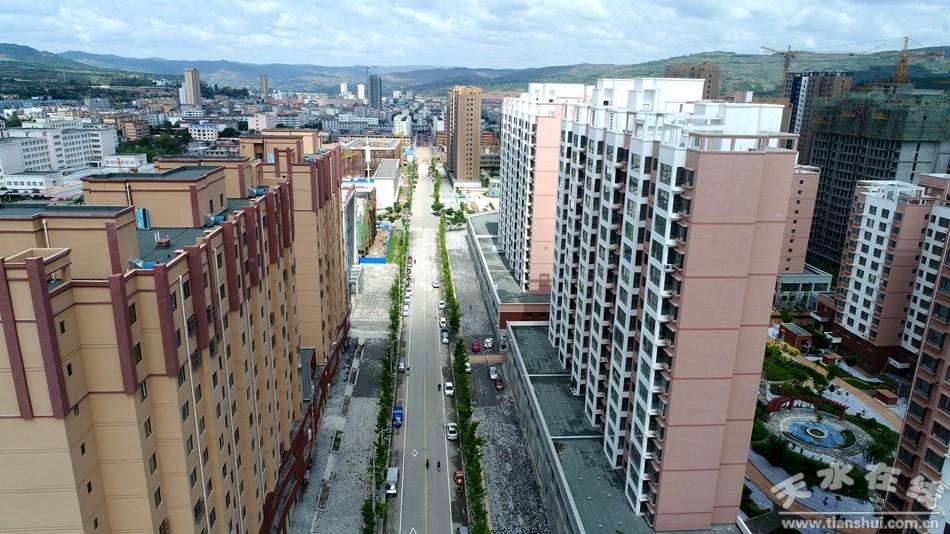 清水 东部新城区成为城市建设新名片