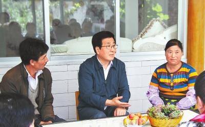 甘肃省委书记、省人大常委会主任林铎在甘南调研