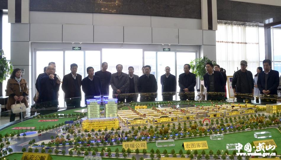 武山县政协赴陇西考察县域经济发展(图)