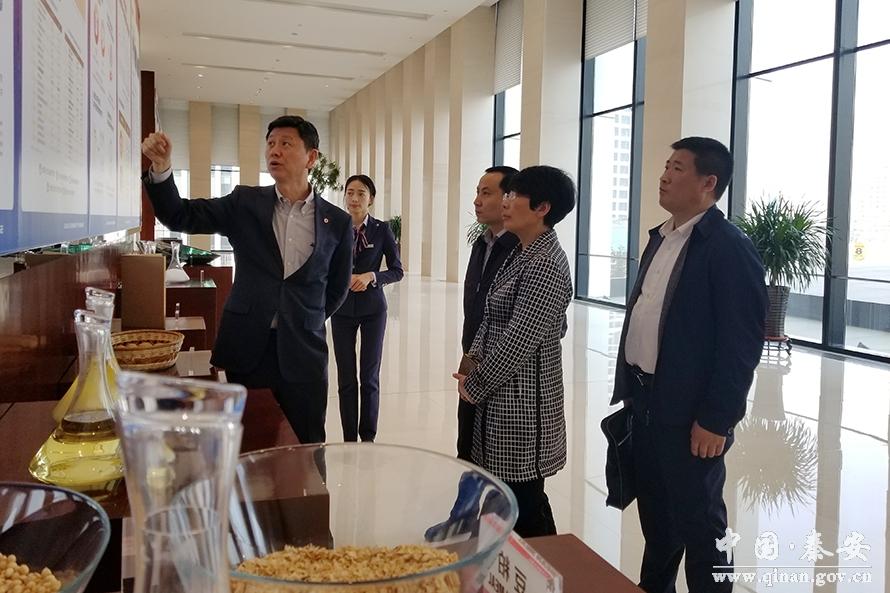 秦安县长程江芬赴大连商品交易所考察洽谈对口永安绥化市高中图片