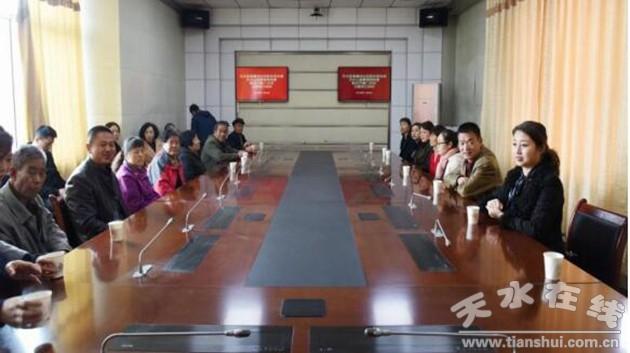 甘肃:瀛池社区党支部联合公路局党委开展11月份主题党日活动