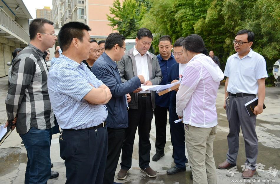 王军市长调研棚户区改造和公租房项目建设项目