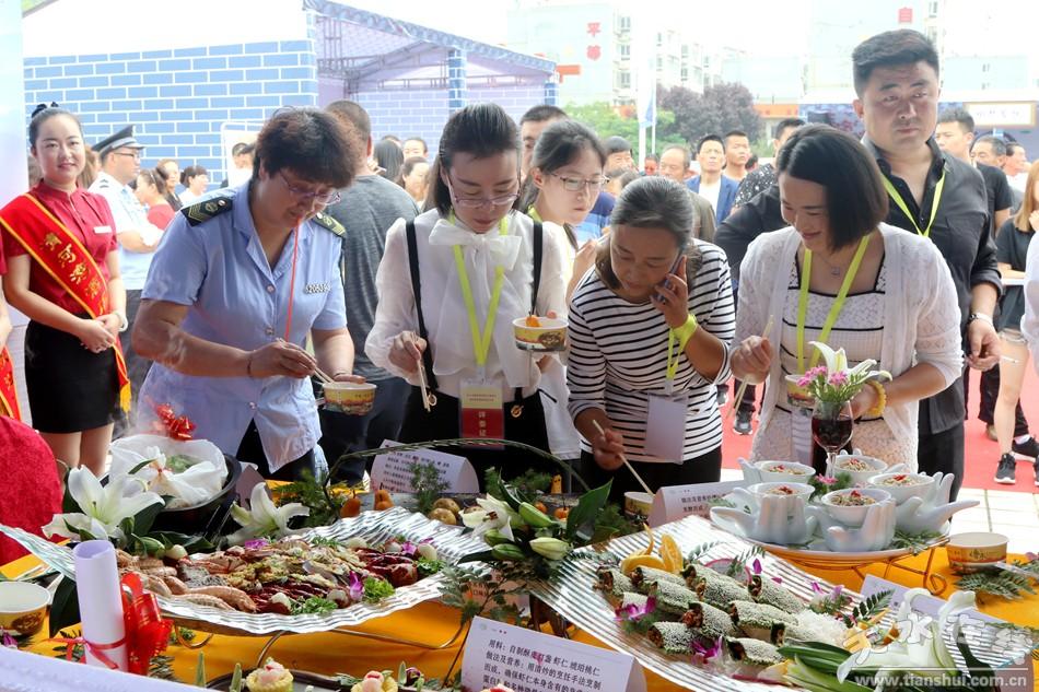 厨艺大赛_清水县举办2018年传统美食厨艺大赛(图)