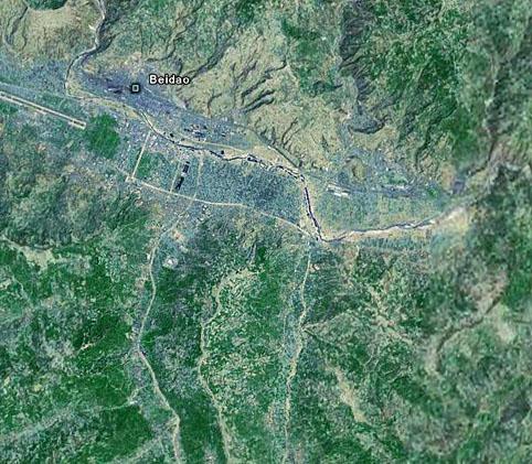 我们村的卫星地图