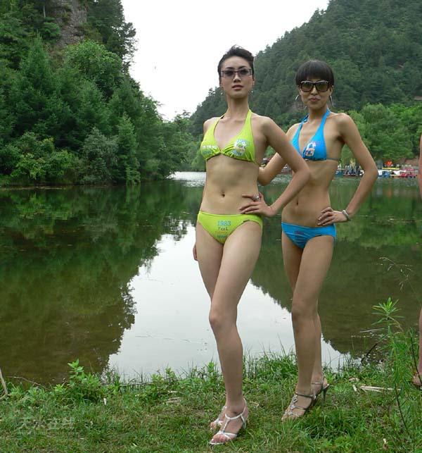 麦积山/图为麦积山风景区之仙人湖