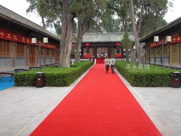 甘肃天水伏羲庙保护维修三期工程施工招标公告